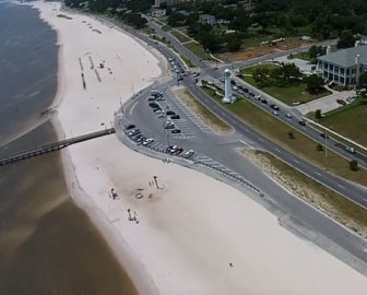 Aerial Tour of Biloxi, MS