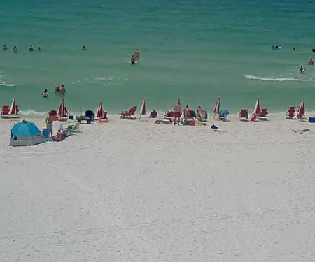 Pompano Joe S Webcam From Miramar Beach