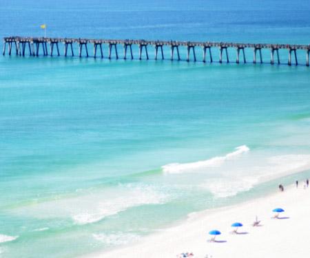 Pensacola Beach Webcam South View