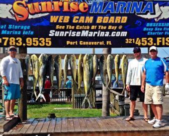 Sunrise Marina Webcam Board