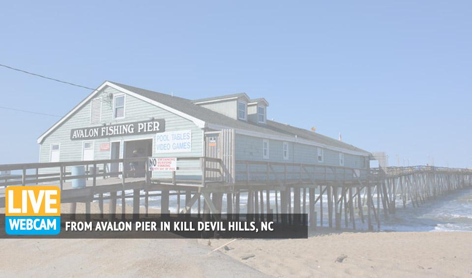 Avalon Fishing Pier Webcam   Visit Outer Banks   OBX