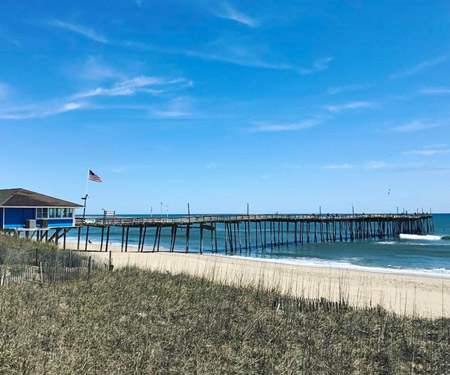Avon Fishing Pier Webcam, Hatteras, Outer Banks NC