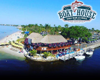 Boathouse Tiki Bar & Grill Cape Coral FL Live Webcam
