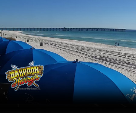 Harpoon Harry's Beach Cam Panama City Beach FL
