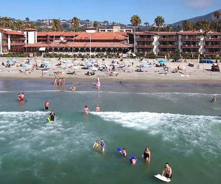 La Jolla Shores Hotel Beach Cam