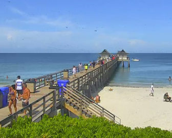 Naples Pier Live Webcam in Florida