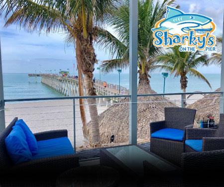 Sharky's on the Pier Live Webcam Venice FL