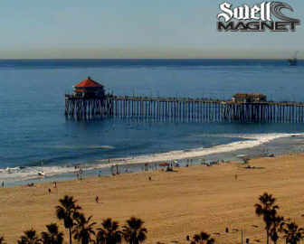 Huntington Beach Surf Cam by SwellMagnet