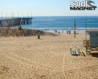 Venice Beach Surf Cam by SwellMagnet
