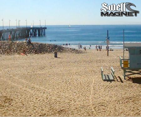 Venice Beach Surf Cam by SwellMagnet - Live Beaches