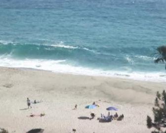 Aliso Beach Cam in Laguna Beach