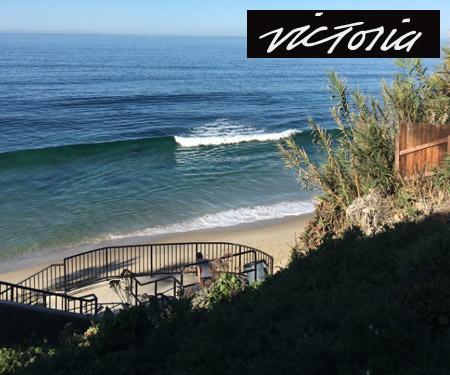 Aliso Beach Cam in Laguna Beach, Victoria Skimboards