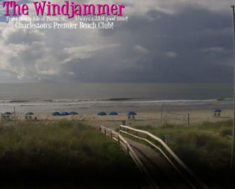 surf cam The Windjammer Isle of Palms, SC