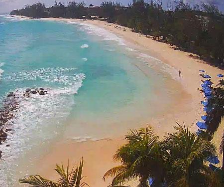 Accra Beach Barbados Live Webcam, Caribbean Islands