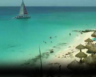 Casa Del Mar Resort Live Webcam, Aruba, Caribbean Islands, Resort Beach Vacation