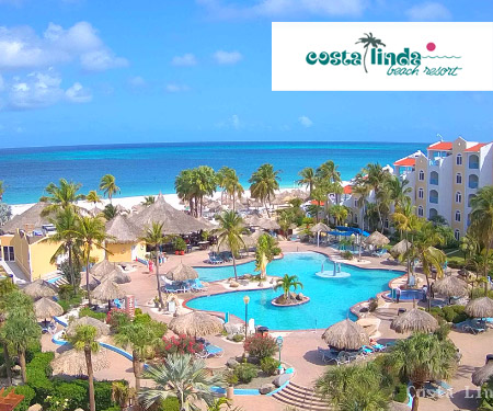 Costa Linda Live Webcam, Aruba, Caribbean Islands