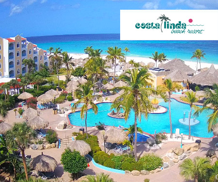 Costa Linda Live Webcam, Aruba, Caribbean Islands