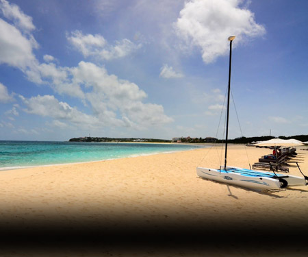 Anguilla Beach Webcam - The Four Seasons Resort and Residences