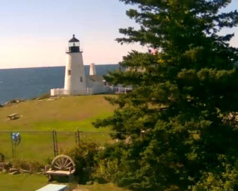 Pemaquid Point Lighthouse Webcam