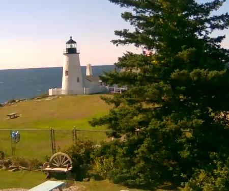 Pemaquid Point Lighthouse Webcam