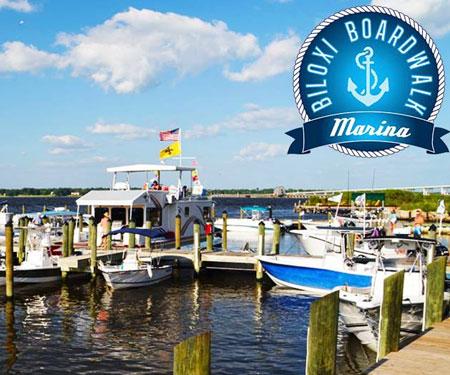 Biloxi Boardwalk Marina Webcam