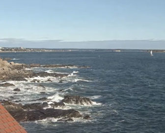 Live Webcam of Casco Bay from Portland Head Light