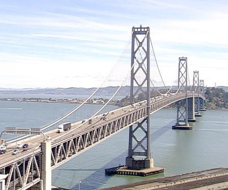Live San Francisco Bay Bridge traffic cam from ABC7