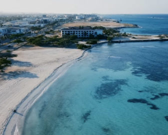 Aerial Tour of Aruba, Caribbean Islands, Resort Beach Vacation