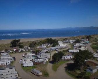 Aerial Tour of Dillon Beach, CA