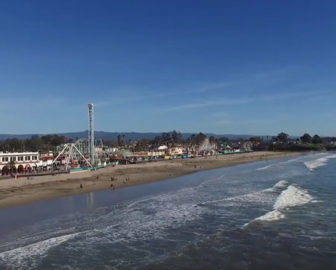 Aerial Tour of Santa Cruz