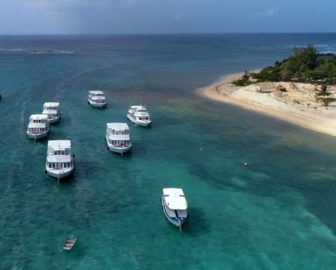 Aerial Tour of Cayman Islands, Caribbean Islands, Resort Beach Vacation