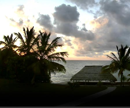Corozal Bay Webcam in Belize, Caribbean Islands