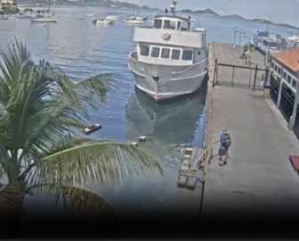 St. John Cruz Bay Ferry Dock Live Cam Resort Beach Vacation, Visit Caribbean Islands