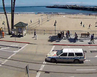 Dig Santa Cruz Volleyball Beach Cam