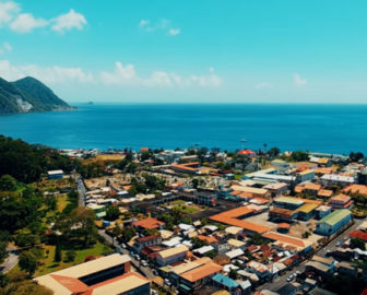 Aerial Tour of Dominica, Resort Beach Vacation, Visit Caribbean Islands