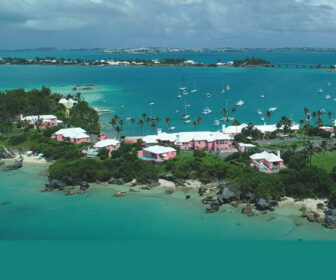 Aerial Flyover Drone Tour of Bermuda