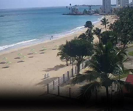 Isla Verde Beach Live Cam, Puerto Rico Resort Beach Vacation, Visit Caribbean Islands