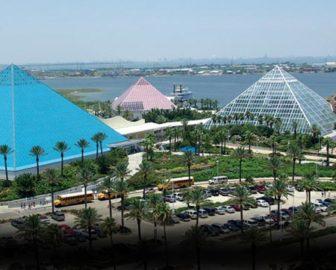 Moody's Garden Pyramid Cam, Galveston TX