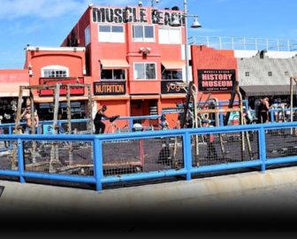 Muscle Beach Live Cam in Venice Beach