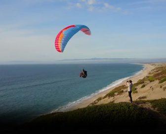 Paragliding in Marina, CA