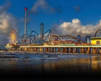 Galveston Island Pleasure Pier Cam