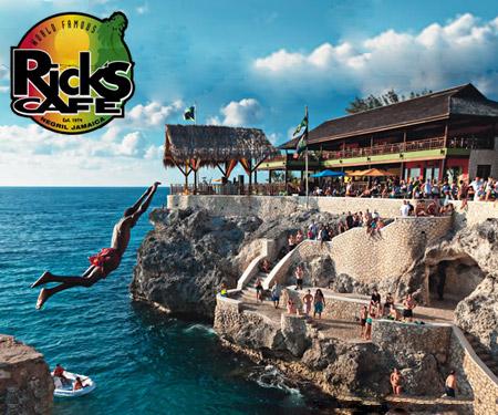 Rick's Cafe Jamaica Live Cam, Resort Beach, Caribbean Islands