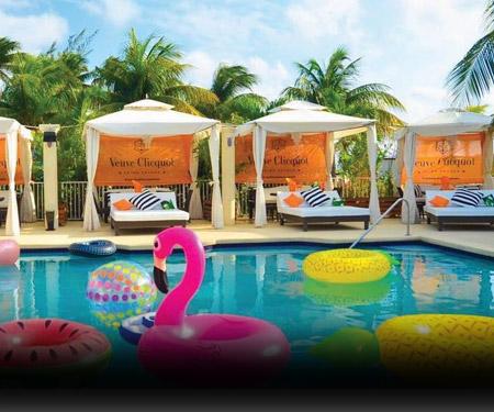 Royal Palms Beach Club Pool Cam, Caribbean Islands, Resort Beach Vacation