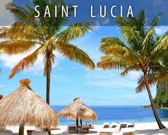 St Lucia & Nevis Webcams, Caribbean Islands, Resort Beach Vacation