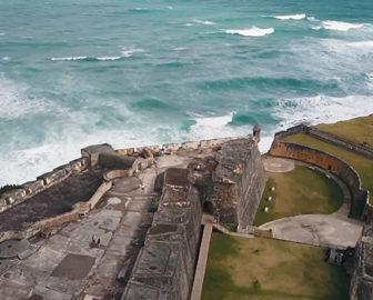 Aerial Video tour of Puerto Rico Resort Beach Vacation, Visit Caribbean Islands