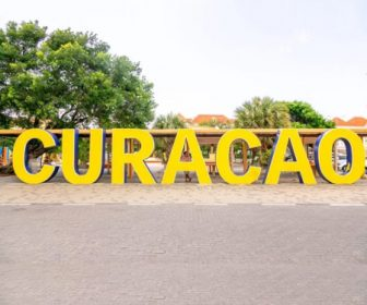 Curacao Sign Live Webcam Wilhelmina Park Resort Beach Vacation, Visit Caribbean Islands