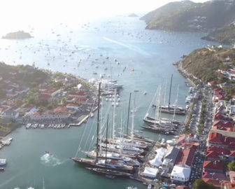 Aerial Tour of Saint Barts, Beach Vacation, Visit Caribbean Islands