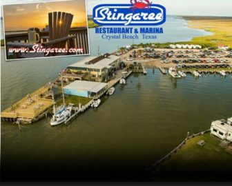 Stingaree Restaurant and Marina Webcam, Bolivar Peninsula