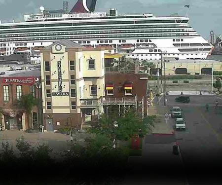 Strand Webcam in Galveston, TX