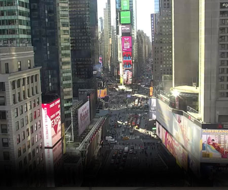 Times Square NYC Live Cam